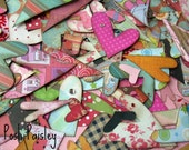 So Lovely- 50 Fun and Funky Hand Cut Valentine HEARTS