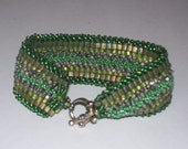 It's Hip to be Square beadwoven cuff