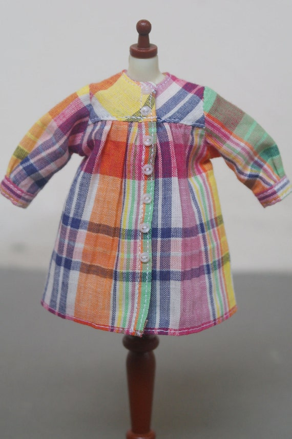 Blythe Smock - Color Plaid Party 003