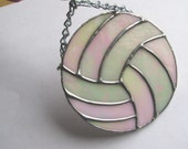 RESERVED ..  Volleyball Suncatcher ..
