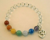 Seven Chakras OM Bracelet