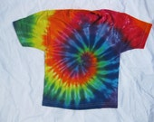 Tie Dye Rainbow Spiral Shirt Size 2T-3T