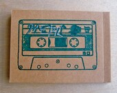 Cassette Note pad