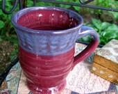 Blush Berry Red Mug