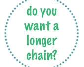 Choose a longer chain to go with your Soul Mantra necklaces
