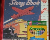 Story Book Journal with Crayons