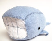 A Very Pleased Plush of a Whale