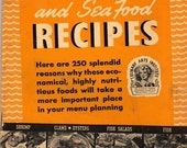 Vintage 250 Fish And Seafood Recipes 1940