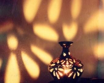 Raku Candle Lanterns