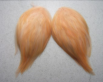 2 PEACH Feather Pads