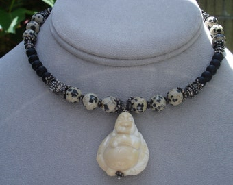 Buddha in Black Choker