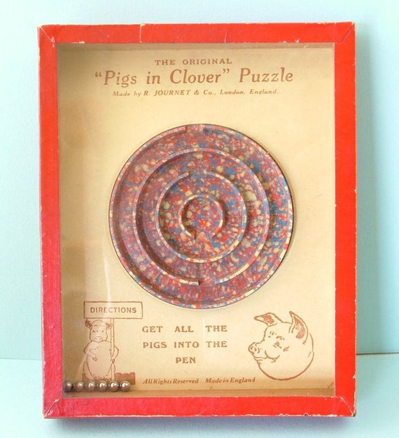 Rare Melamine Puzzle Toy from UK