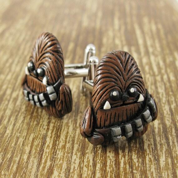 Chewbacca Inspired Cufflinks