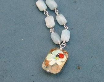 Sweet Lady Bug Necklace
