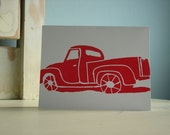 Ford 150 Pickup Truck - Folded Card