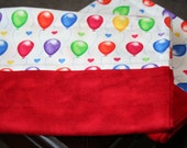 Flannel Pillowcases- Colorful Balloons- set of 2
