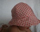 Jille Beach Hat   Pink Lady Bugs