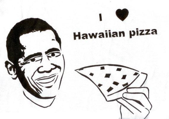 Obama Likes Pizza
