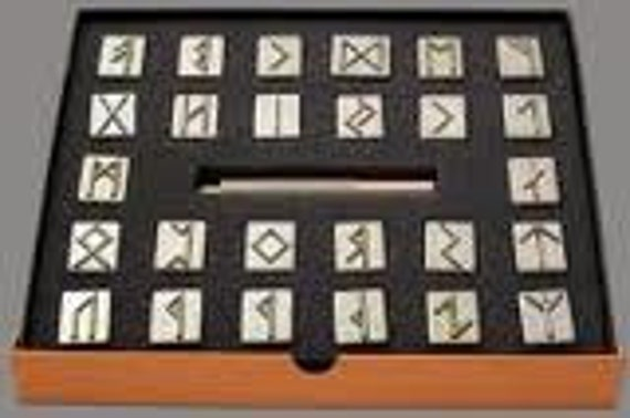 Rune Stamps 24 Viking Runes Symbol Design Stamp Set Rune Artfire