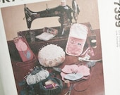 McCall's Pattern for Sewing Accessories and Organizers, Cases, Pincushions and More