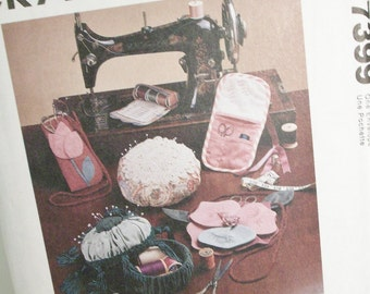 McCall's Pattern for Sewing Accessories, Organizers, Cases, Pincushions and More