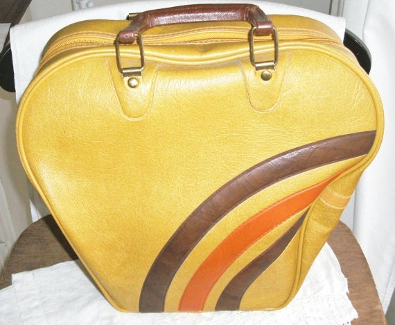 Vintage Bowling Ball Bag - Funky Purse