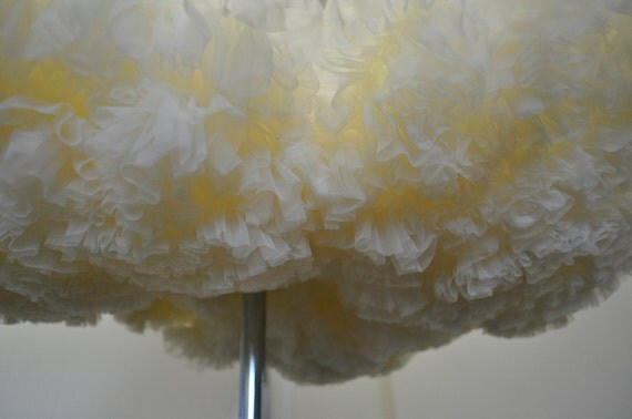Deep Ivory Wedding Chiffon Petticoat-----------------available in other colors