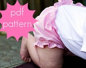Bloomers - INSTANT download - PDF Sewing Pattern - Diaper Cover - nb, 3m, 6m, 12m, 18m, 2t, 3t, 4t, 5t, Doll (Preemie)