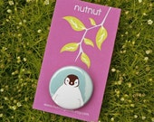 little animal badges\/pins\/buttons - family of 4