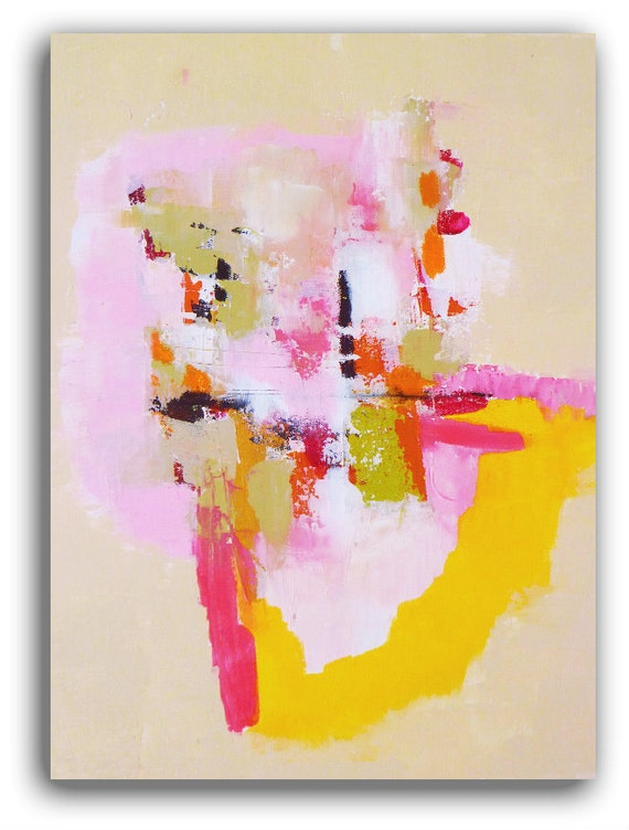 """Modern Art an Original  Abstract Landscape...A Painting by Christina Romeo TITLE: """"Prime"""""""
