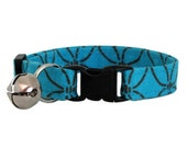 Cotton Cat Collar (Turquoise Blue Holm)