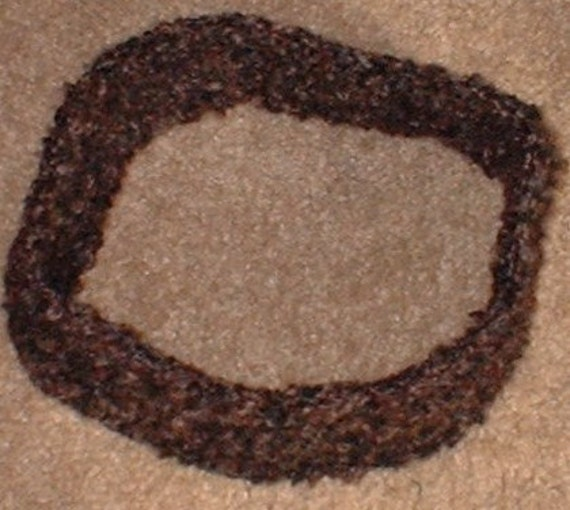 Headband, Shades of Brown and Black, Crochet