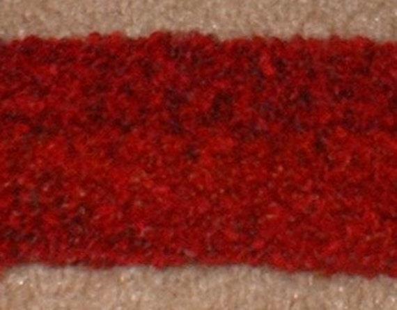 Headband, Red, Crochet
