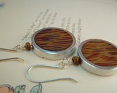 Retro Wood Earrings