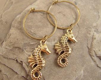 Golden Seahorses
