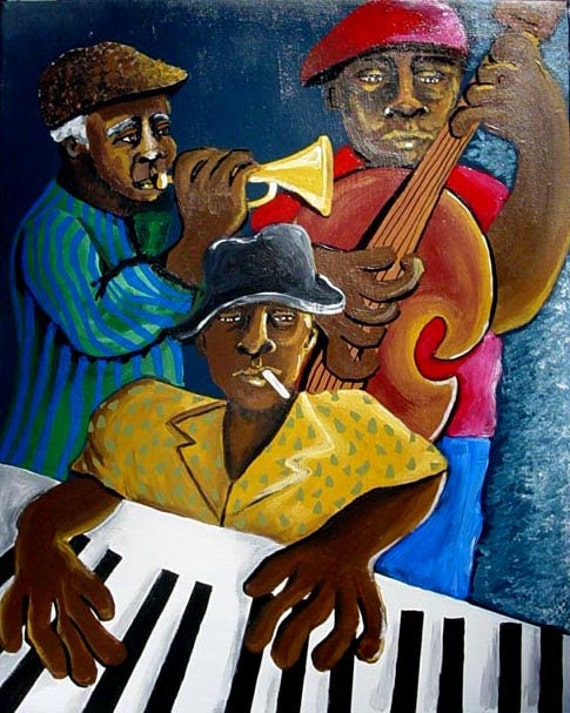 evolution of jazz from african american folk music to american art form Buddy is considered by many to be the first person to play the blues form of new orleans jazz  jazz music and on african american folk culture  art blakey's .