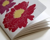 SALE Peonie Mini Notebook