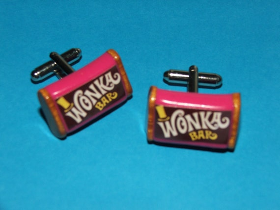 Wonderful.............. Wonka Bars Cuff Links