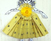 BURNABE3 LOUISE ONLY for her- 2 Paper Art Doll- Sorbetto al Limone e Fragola