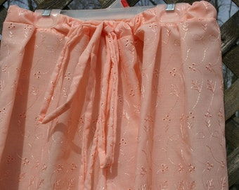 Long Peach Bloomers