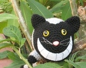 PDF Crochet Pattern - The Cheshire Cat