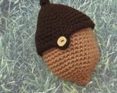 PDF Crochet Pattern - The Two Acorn Bag
