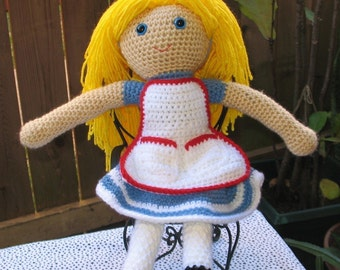 PDF Crochet Pattern - Alice
