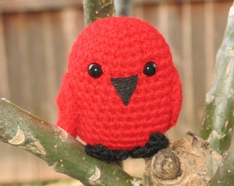 Pdf Crochet Pattern - Travis the Rockin Robin