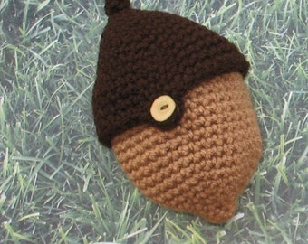 PDF Crochet Pattern - The Two Acorn Bag