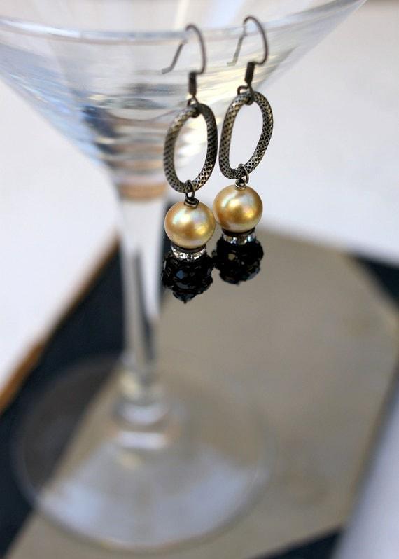 Vintage Inspired City Lights Earrings