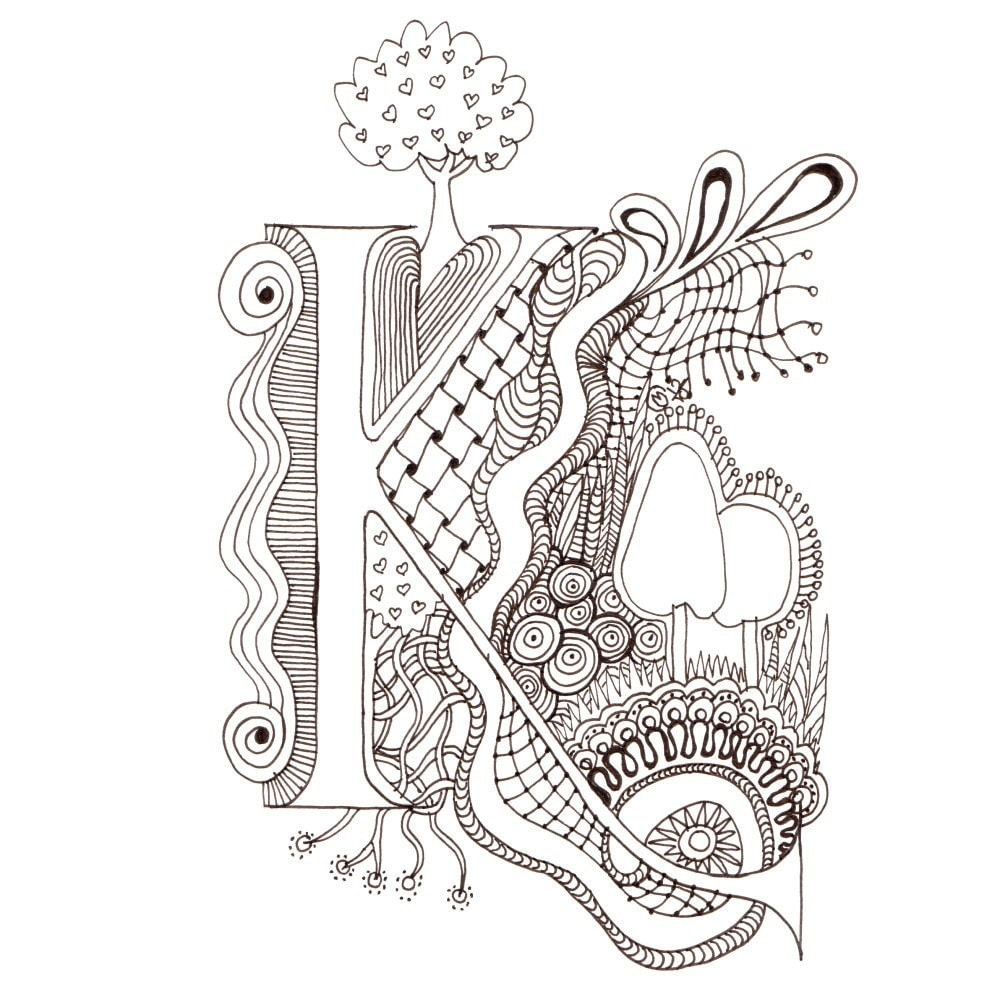 M illuminated letters m coloring pages coloring pages for Illuminated alphabet templates
