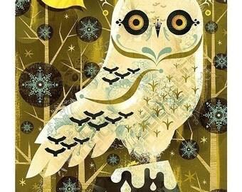 Snowy Owl - 8.5X11