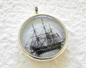 Lost at Sea Small Pendant