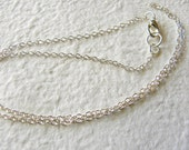 Add A Chain - 24'' Dainty 2MM STERLING Silver Cable Chain